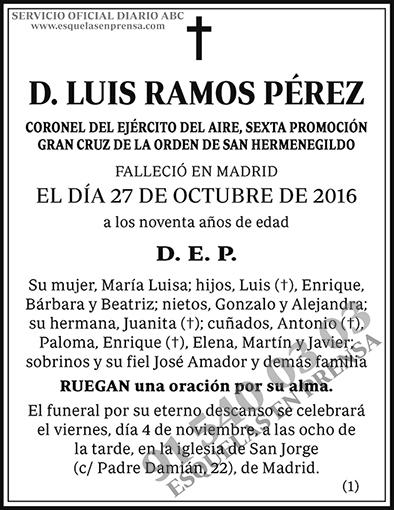 Luis Ramos Pérez